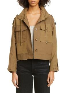 Rejina Pyo Carly Crop Cotton Jacket