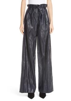 Rejina Pyo Eve Wide Leg Faux Leather Pants