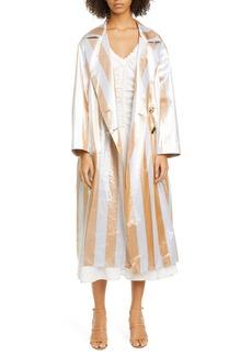 Rejina Pyo Ida Stripe Trench Coat