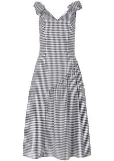 Rejina Pyo Lily checkered dress - Black