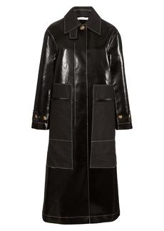 Rejina Pyo Logan Faux Leather Coat