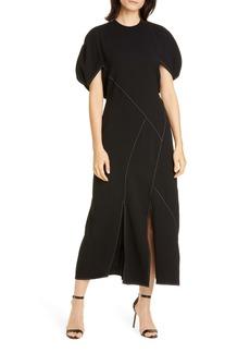 Rejina Pyo Lucinda Puff Sleeve Midi Dress
