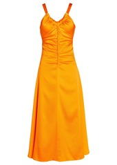 Rejina Pyo Toni Ruched Silk Dress