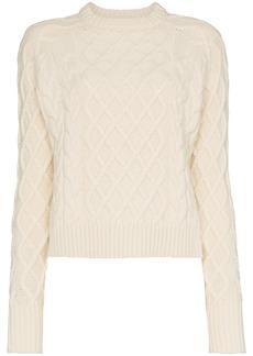 Rejina Pyo wool yak-cashmere blend cable knit sweater