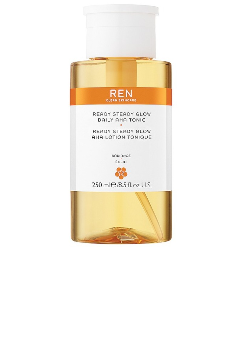 REN Clean Skincare Ready, Set, Glow Daily AHA Tonic.