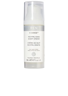 REN Clean Skincare V-Cense Revitalising Night Cream.