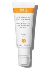 REN Clean Skincare Wake Wonderful Night-Time Facial Exfoliating Treatment