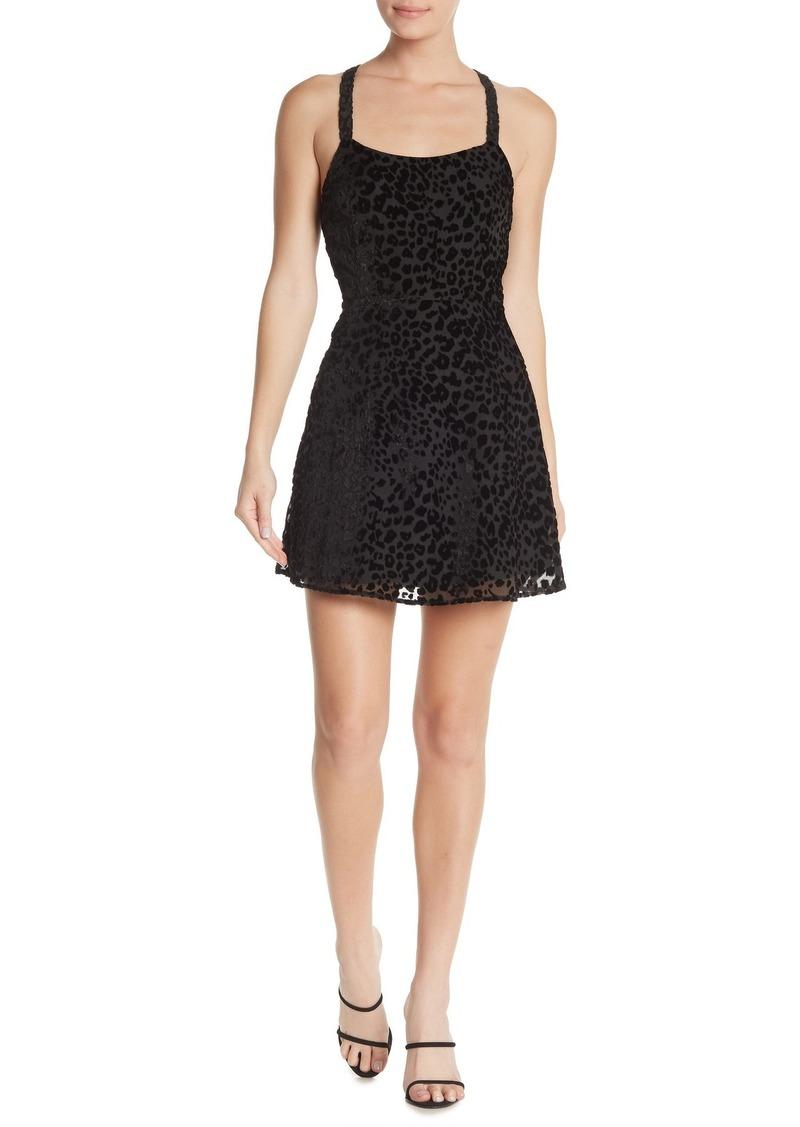 re:named Burnout Mini Dress