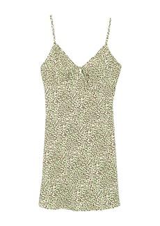 re:named Joey Leopard Print Mini Dress