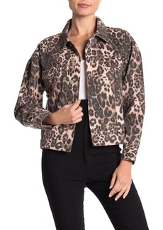 re:named Kai Leopard Denim Jacket