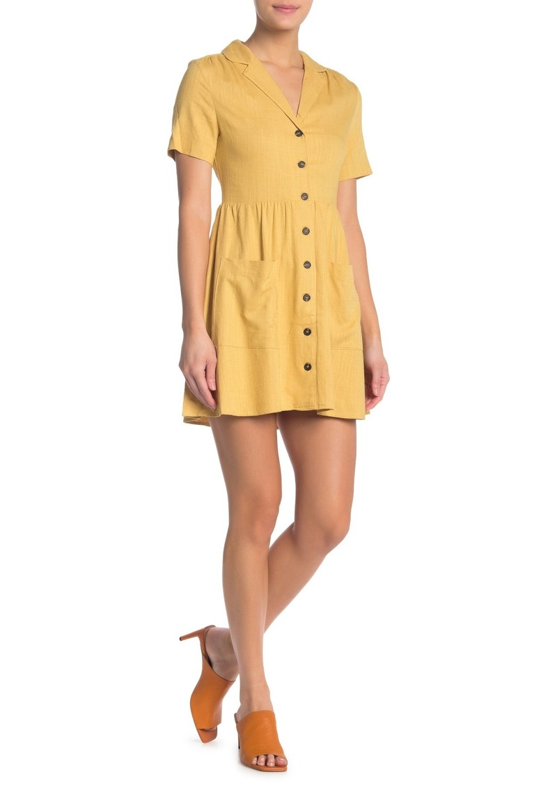 re:named Karlie Button Front Dress