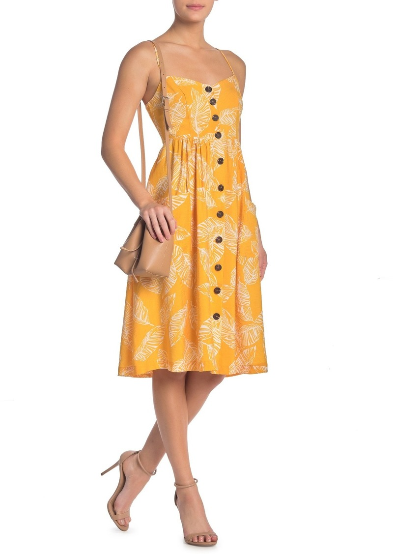 re:named Leafy Day Dress