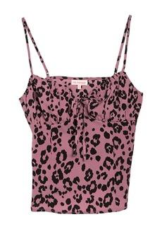 re:named Leopard Print Cami Tank