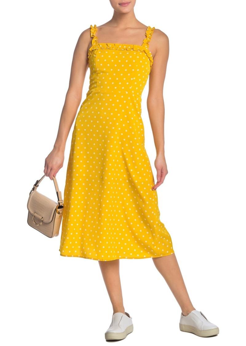 re:named Remy Polka Dot Dress