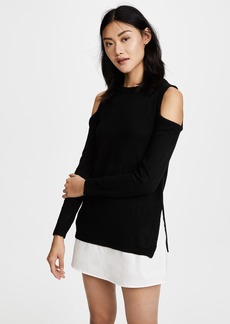 re:named Cold Shoulder Sweater Dress