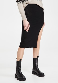 re:named Janet Knit Slit Skirt