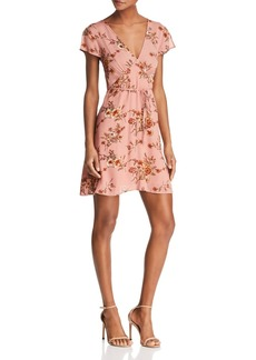 Re:Named Kelsi Floral Belted Dress