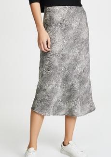 re:named Leopard Midi Skirt