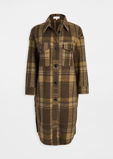 re:named Plaid Long Jacket