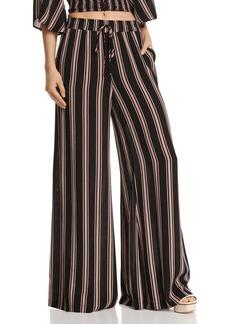 Re:Named Quinn Striped Wide-Leg Pants
