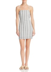 Re:Named Tonya Striped Tie-Back Dress