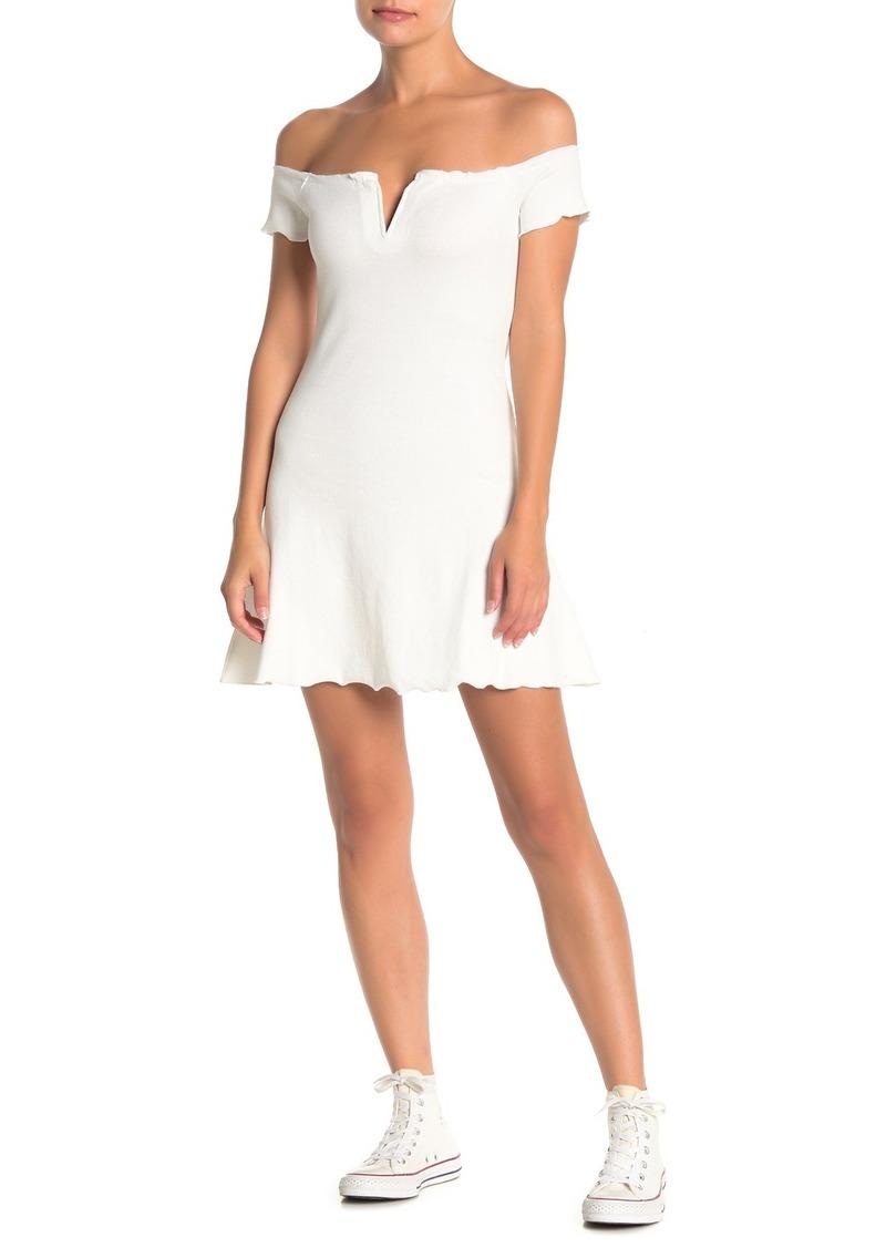 re:named Skarlett Off-The-Shoulder Dress
