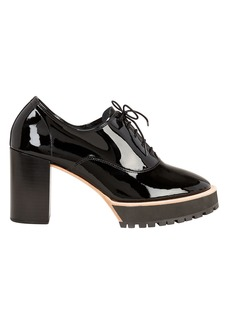 Repetto Brogue Patent Leather Pumps