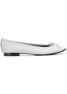 Repetto metallic ballerina shoes