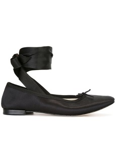 Repetto ankle-wrap ballerinas