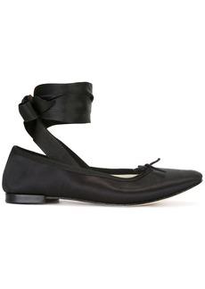 Repetto ankle-wrap ballerinas - Black