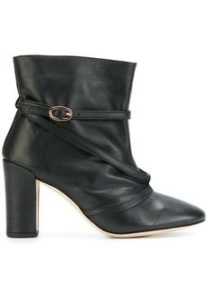 Repetto buckle-strap anke boots - Black