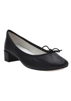 Repetto 'Camille' chunky heel ballerina - Black
