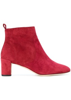 Repetto mid-heel ankle boots - Red