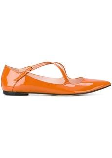 Repetto pointed ballerinas - Yellow & Orange