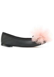 Repetto X Karena Lam ballerina pumps - Black