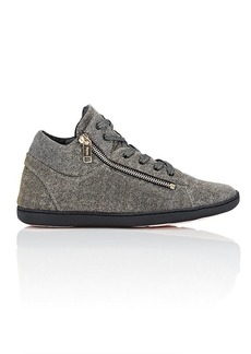 Repetto Women's Glitter Knit Sneakers
