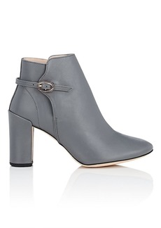 Repetto Women's Ethel Leather Buckle Ankle Boots