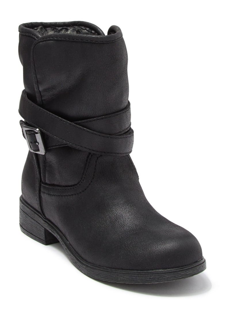 Report Hershel Faux Fur Lined Buckle Boot