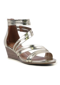 Report Mohave Metallic Strapped Wedge Sandal