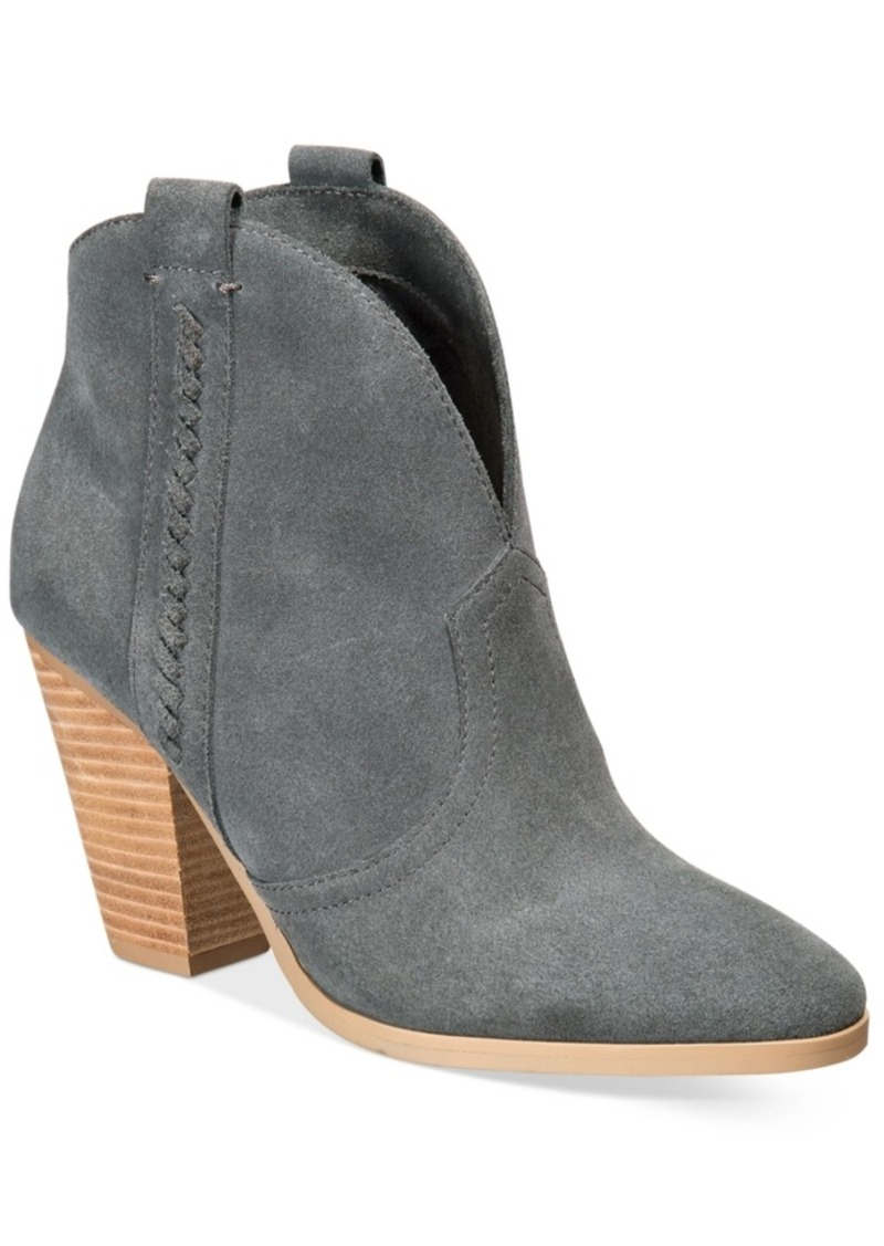 cba3332dc901 Report Report Doman Western Ankle Booties Women s Shoes