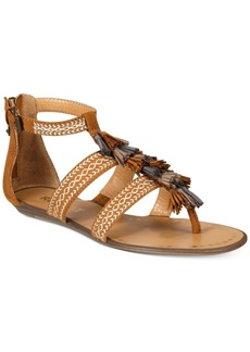 Report Lanston Tassel Flat Sandals Women's Shoes