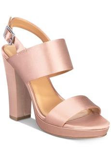 Report Lawren Two-Piece Platform Sandals Women's Shoes