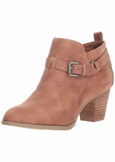 Report Women's Caroline Ankle Boot Dark tan