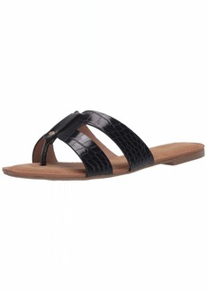 Report Women's GAYLAN Flip-Flop Black exotic  M US