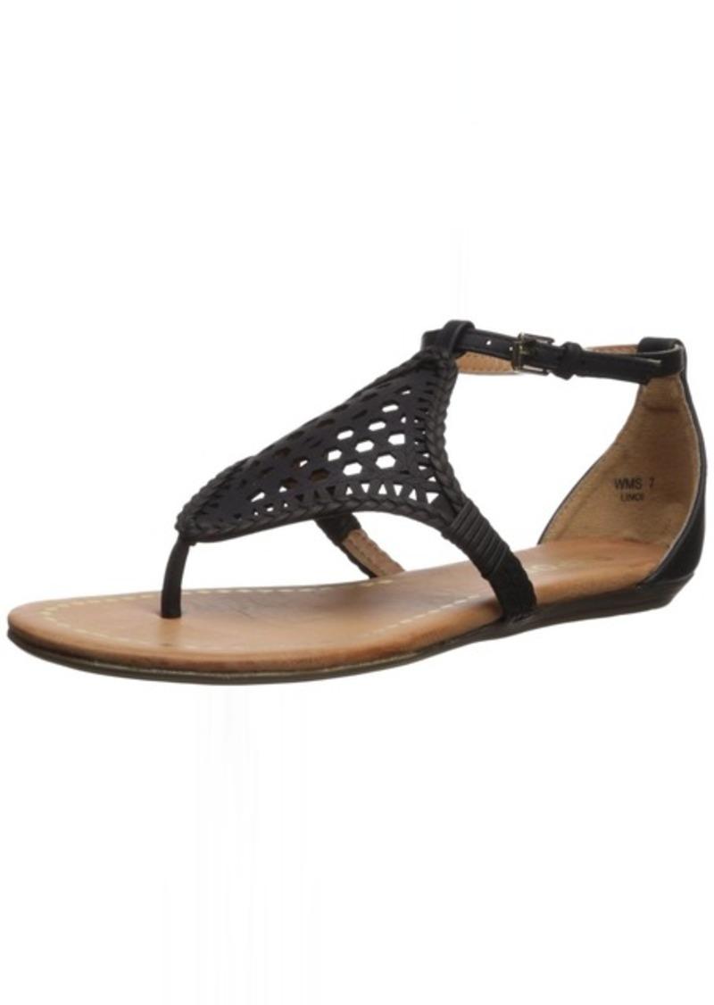 Report Women's Lindi Flat Sandal   Medium US
