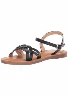 Report Women's OLAH Flat Sandal   M US