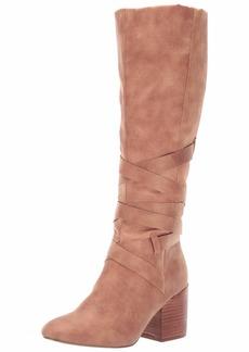 Report Women's Thora Knee High Boot Dark tan  M US