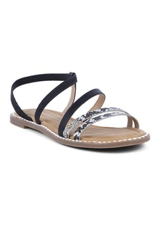 Report Strappy Elastic Sandal