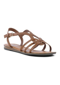 Report Strappy Flat Sandal