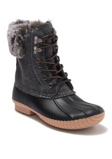 Report Ursela Faux Fur Trimmed Duck Boot
